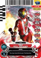POWER RANGERS CARD RISE OF HEROES : Red RPM Ranger 046