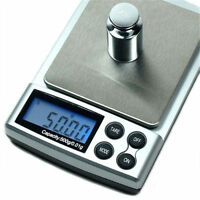 500g x 0.01g Digital Scale Silver Jewelry Weight Balance Tool DevicYJRI