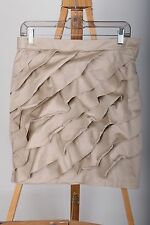 New York & Company Ruffle Front Skirt Women's Size 10