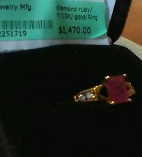 Ruby and Diamond Ring Size 6