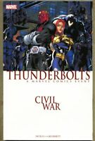 GN/TPB Civil War Thunderbolts collected vf+ 8.5 (2007) Fabian Nicieza