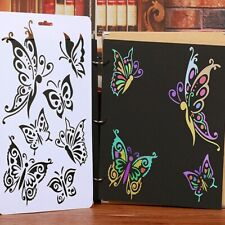 Butterfly Layering Stencils For Wall Painting Scrapbooking Stamps Album Deco Art