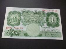 L.K.O'BRIEN 1955 ONE POUND NOTE UNCIRCULATED DUGGLEBY B273. 1955 £1 NOTE