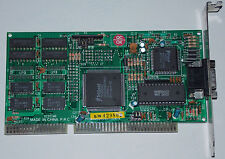 Isa 16 bits Tarjeta gráfica Trident tvga 9000c VGA J 4 uvga 511 tqmt 4 Graphic mapa Card