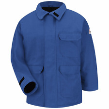 JNP2RB Bulwark NOMEX® IIIA Royal Blue Deluxe Parka, Size small