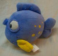 "Disney Jr. Doc McStuffins SQUEAKERS THE FISH 6"" Plush STUFFED ANIMAL Toy"
