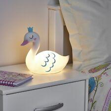 New Swan LED Table Night Lamp Light Kids Girls Boys Bedroom Bedside Children2