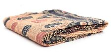 Indian Quilt Vintage Kantha Bedspread Throw Cotton Blanket.Gudari Quilt Bohemian