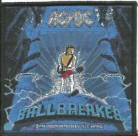 AC/DC ballbreaker 1996 - WOVEN SEW ON PATCH - official merch - no longer made