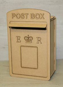 C11 Royal Mail Wedding POST BOX Mdf Craft Kit XXX Large Post Box, Weddings Party