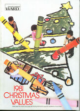 1981  MONTGOMERY WARD  WISH BOOK  '81   CHRISTMAS CATALOG
