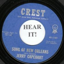 Jerry Capehart TEEN INSTRO-Crest 1101- Song Of New Orleans -Eddie Cochran/guitar