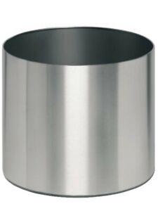 EDELSTAHL Übertopf 31 cm, Oberfläche satiniert, sofort, NEU,OVP
