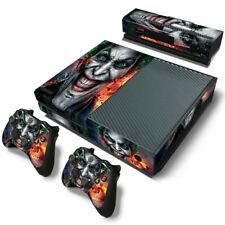 Xbox one Console The Dark Knight Joker Skin decal stickers +kinect +2 controller