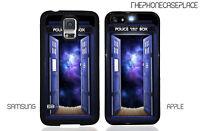 Doctor Who Tardis Door Open to Space Phone Case for Apple or Samsung Phones