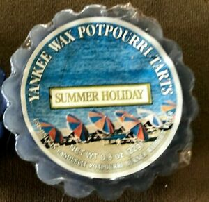 YANKEE CANDLE SUMMER HOLIDAY RARE BEST PRICE ONLINE TART WRAPPED