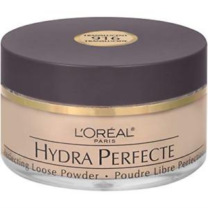 L'Oreal Paris Hydra Perfecte Perfecting Loose Face Powder, Minimizes Pores & to