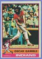 1976 Topps Oscar Gamble Cleveland Indians #74