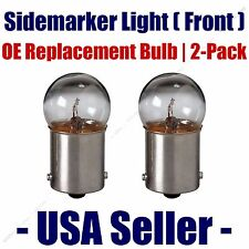 Sidemarker (Front) Light Bulb 2pk - Fits Listed AM General Vehicles - 67