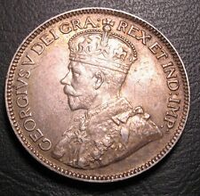 OLD CANADIAN COINS RARE 1929 CANADA TWENTY FIVE CENTS FREE SHIPPING US AND CA