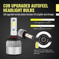 2x 9006 HB4 200W 20000LM LED Lamp Headlight Kit Car Beam Bulbs 6000k White 9-30V