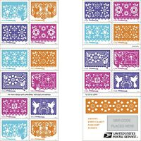 *Mint USPS Forever Stamps. Colorful Celebrations 2016 MNH booklet of 20