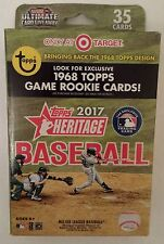 2017 Topps Heritage Hanger Box Target 1968 Topps Game Rookie Cards Judge?
