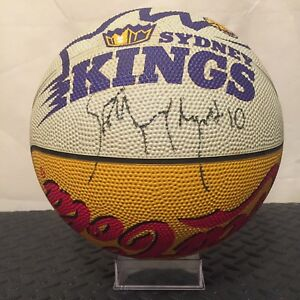NBL Sydney Kings Autographed Full Size Vintage Outdoor Basketball by Spalding