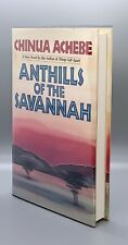 New listing Anthills of the Savannah/Achebe First Edition! Signed! Scarce!