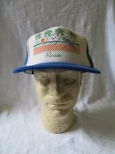 Vintage Florida Beach Pal Trees Umbrella Stars Snapback Hat