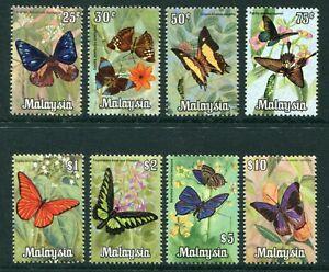 1970 Malaya Malaysia Butterflies set stamps  Unmounted mint  MNH U/M