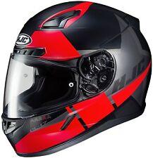 HJC CL-17 BOOST Full Face Motorcycle Street Helmet Black/Red SIZE MEDIUM MC-1SF