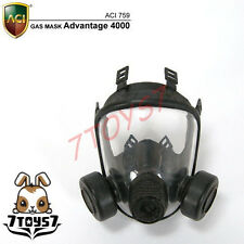 ACI Toys 1/6 Gas Mask_ A-4000 _SAS GSG9 GIGN Seal SWAT RAID Division AT069B