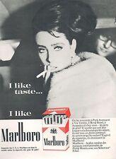 ▬► PUBLICITE ADVERTISING AD CIGARETTE TABAC I LIKE TASTE I LIKE MARLBORO