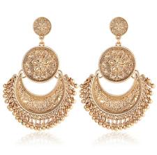 1Pair Women Boho Ethnic Tassel Coin Drop Dangle Vintage Earrings Fashion Jewelry