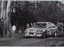 Pentti Airikkala Vauxhall Chevette 2300 Hs Rally Rac 1977 Firmado fotografía 1