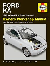 5567 Haynes Ford Ka (1996 - 2008) P to 58 Workshop Manual