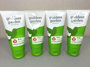 Goddess Garden Organics 6 Oz Kids Natural Sunscreen SPF 30 - Exp. 04/18