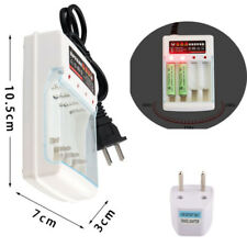 Universal 4 Slot Ni MH Ni Zn Lithium Iron AA AAA Rechargeable Battery Charger