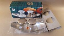 Vintage WMF Salt and Pepper designed by  W. Wagenfeld MAX & MORITZ boxed UNUSED
