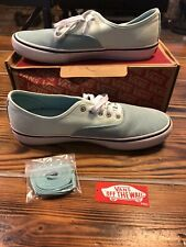 Vans Authentic Pro Aqua Haze/Soothing Sea Men's Classic Skate Shoe Size 11.5