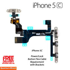 NEW iPhone 5C On/Off Power/Lock Volume Mute/Silent Button/Switch with Brackets