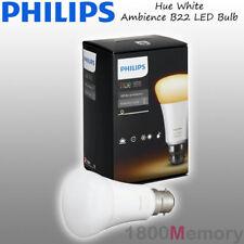 Philips Hue White Ambiance A60 Bayonet B22 LED Single Bulb A19 WiFi 240V AC