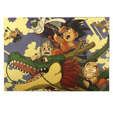 Vintage Cartoon Dragon Ball Scale Map Paper Posters Club Decor 51*35.5 cm Wall