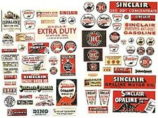 JL Innovative 486 HO 1930-50's Vintage Sinclair Gas Station Posters/Signs (71)