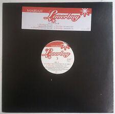 """Mariah Carey Loverboy Maxisingle 12"""" USA 2001  Con sticker en portada"""