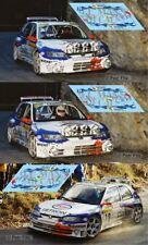 Decals Peugeot 306 Maxi Rallye Montecarlo 1998 Slot calcas Panizzi Delecour