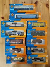More details for roco 'ho' gauge rake of 12 various coaches, wagons and tankers boxed