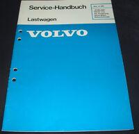 Werkstatthandbuch Volvo LKW nicht von Kupplung abhängiger Nebenantrieb 12/1986!