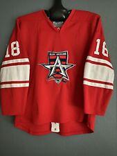Allen Americans Game Worn Jersey President's Cup Final Kerbashian 2012-13 Rare!!
